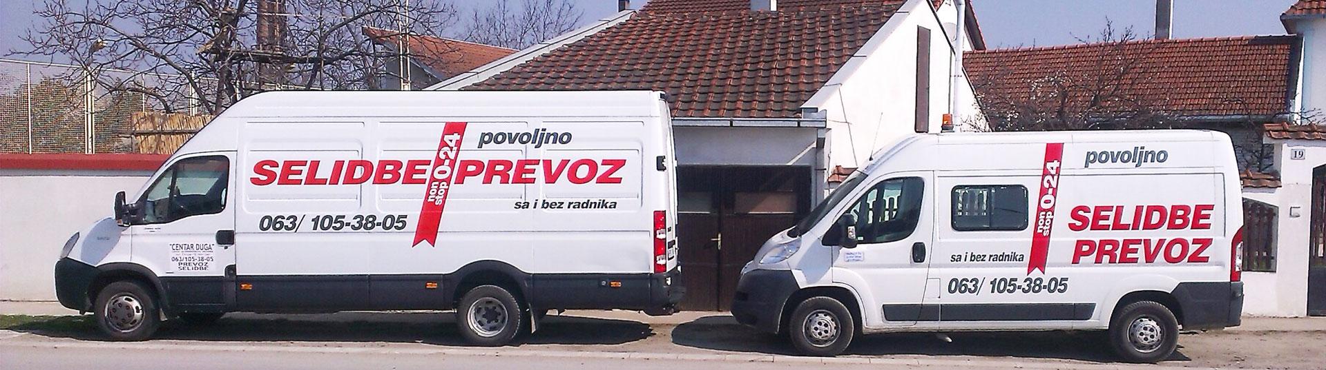 Selidbe Novi Sad - povoljne cene prevoza već od 1000 dinara